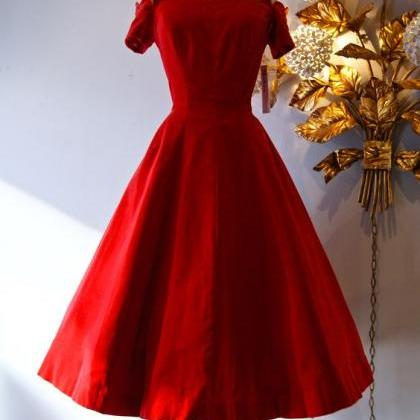 Red Prom Dress,Off the Shoulder Pro..