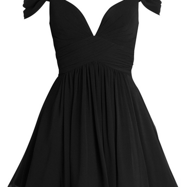 Off The Shoulder Prom Dress,Black P..