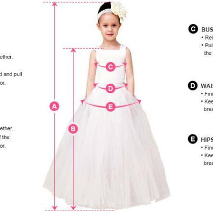 Flower Girl Prom Dress,Lace Prom Dr..