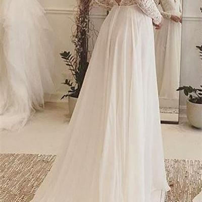 Backless Wedding Dress,Lace Prom Dress,A Line Prom Dress,Fashion Bridal Dress,Sexy Party Dress, 2017 New Evening Dress