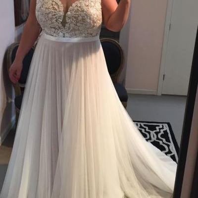808a24bd36ce Plus Size Prom Dress,Lace Prom Dress,Illusion Prom Dress,Fashion Prom Dress