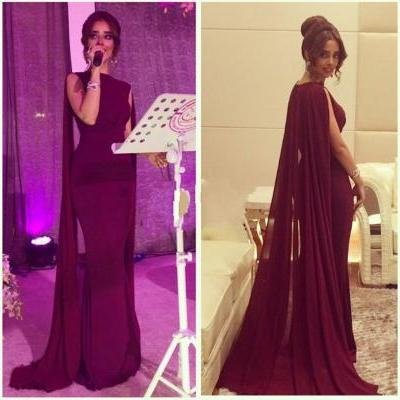Charming Prom Dress,Mermaid Prom Dress,Burgundy Prom Dress,Fashion Prom Dress,Sexy Party Dress, New Style Evening Dress