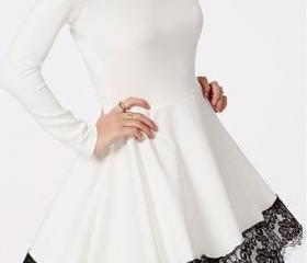 Long Sleeves Dresses..