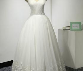 Bodice Ball Gown,V N..