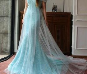 Modest Prom Dress,Of..