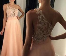 Beaded Prom Dress,On..