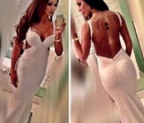 Backless Prom Dress,..