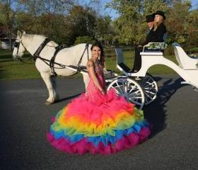Colorful Prom Dress,..