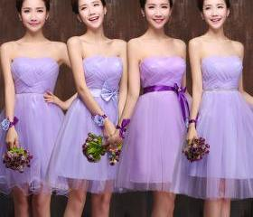 Purple Prom Dress,St..
