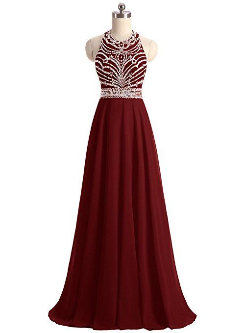 Beaded Prom Dress,Burgundy Prom Dress,Fashion Prom Dress,Sexy Party Dress,Custom Made Evening Dress
