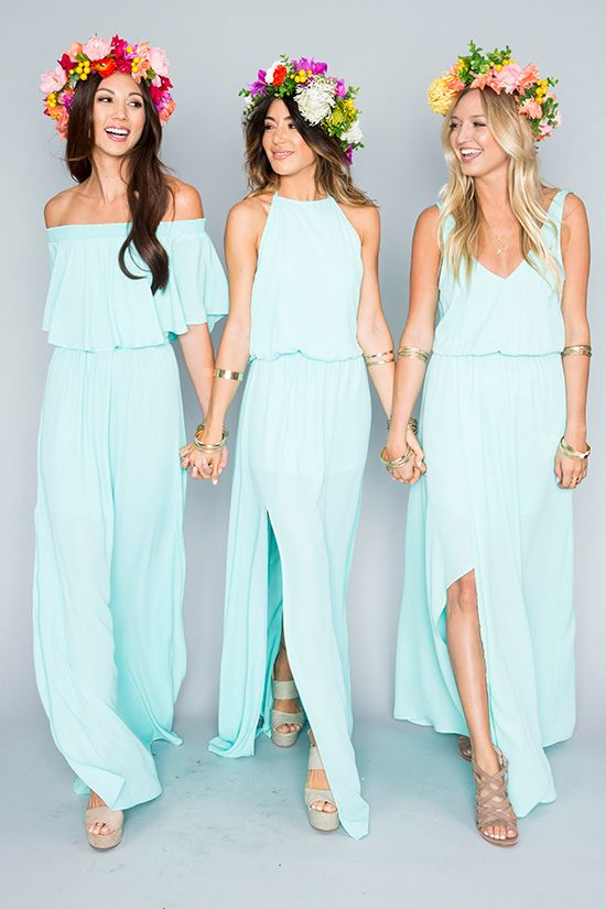 Simple Prom Dress Chiffon Fashion Bridesmaid Y Party New Style Evening