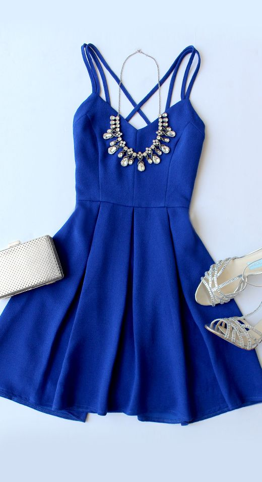 Spaghetti Prom Dress,Royal Blue Prom Dress,Mini Prom Dress,Fashion Homecomig Dress,Sexy Party Dress, New Style Evening Dress