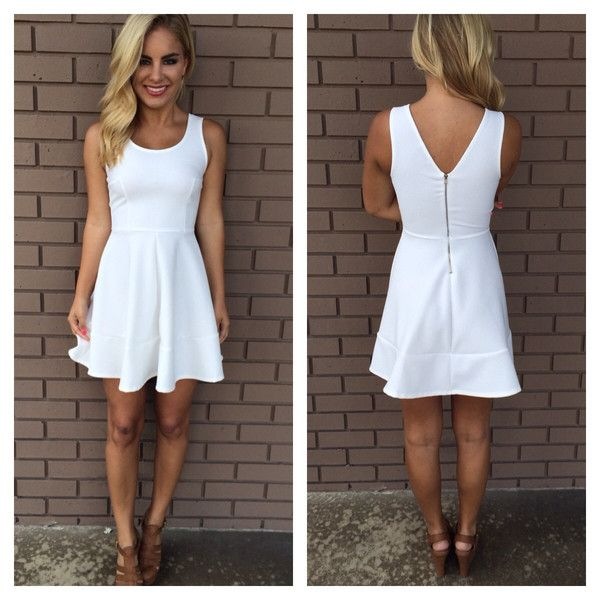 White Casual Dresses