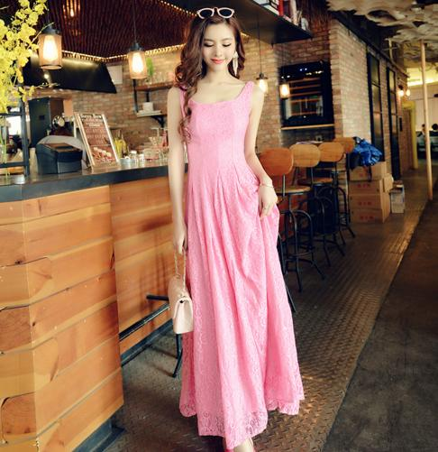 Charming Prom Dress,Pink Prom Dress,Maxi Prom Dress,Fashion Prom Dress,Sexy Party Dress, New Style Evening Dress