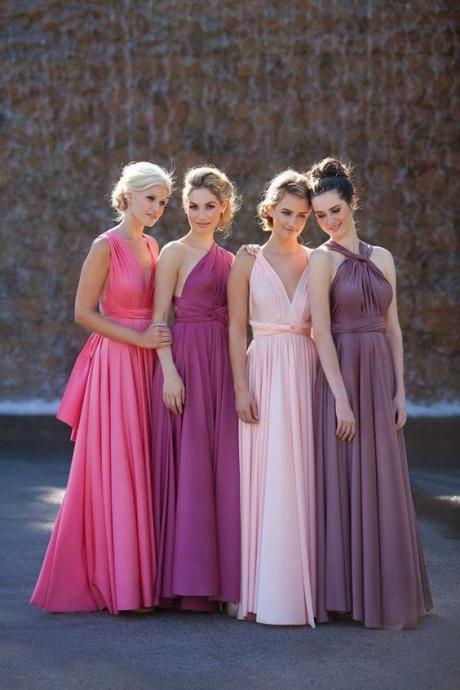 Pleated Bridesmaid Dress,Fashion Bridesmaid Dress,Sexy Party Dress, New Style Evening Dress