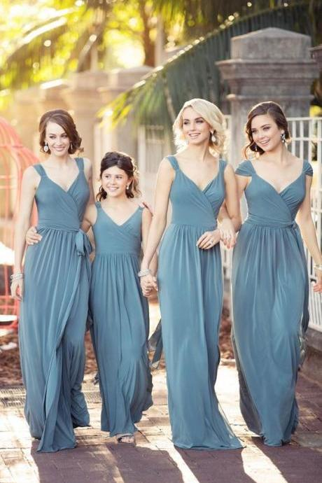 Simple Pleated Prom Dress,Fashion Bridesmaid Dress,Sexy Party Dress, New Style Evening Dress