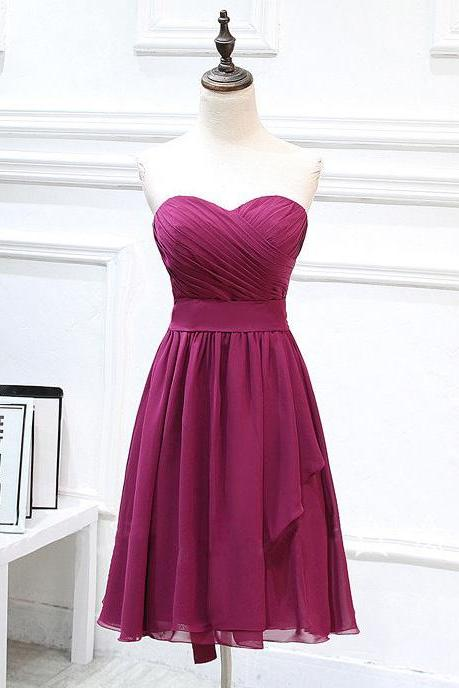 Elegant Prom Dress,Mini Prom Dress, Modest Prom Dress,Simple Cute Prom Dress