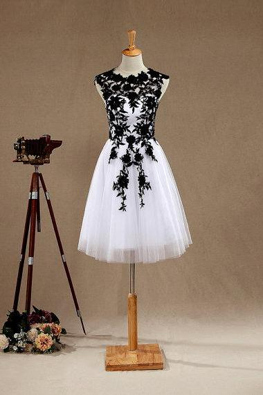 New Arrival Short White Evening Dress , Graduation Dresses ,Party Dresses,Evening Dresses