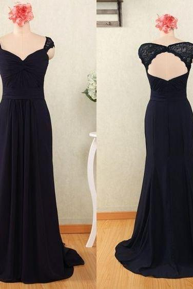 Elegant Prom Dress, Long Prom Dress, Backless Evening Dress,Stain ormal Dress