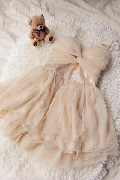 Lovely Tulle Sweetheart Mini Party Dress, Party Dress, Mini Formal Dress