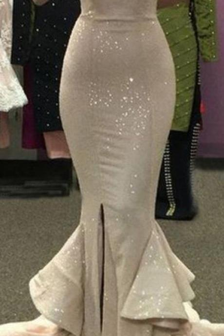Sparkly Prom Dress,Mermaid Prom Dress,Sequins Prom Dress,Fashion Prom Dress, Cheap Party Dress, 2017 Evening Dress