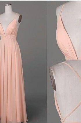 Backless Prom Dress,Spaghetti Prom Dress,A Line Prom Dress,Fashion Bridesmaid Dress,Cheap Prom Dress, New Style Evening Dress
