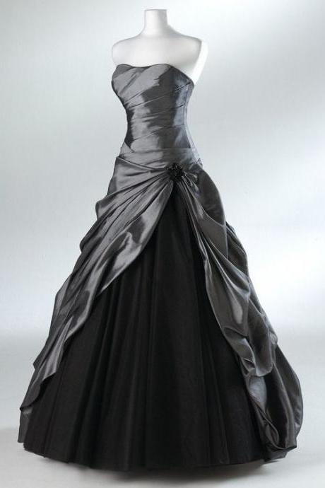 Modest Prom Dress,Strapless Prom Dress,Maxi Prom Dress,Fashion Prom Dress,Sexy Party Dress, New Style Evening Dress
