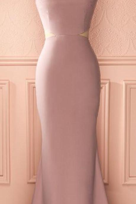 Modest Prom Dress,Pink Prom Dress,Mermaid Prom Dress,Fashion Prom Dress,Sexy Party Dress, New Style Evening Dress