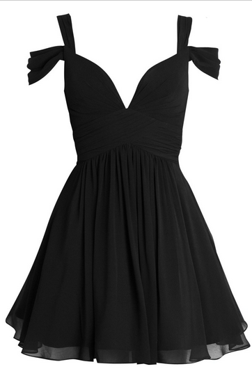 Off The Shoulder Prom Dress,Black Prom Dress,Mini Prom Dress,Fashion Homecomig Dress,Sexy Party Dress, New Style Evening Dress