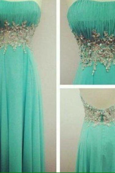 Backless Prom Dress,Beaded Prom Dress,Bodice Prom Dress,Fashion Prom Dress,Sexy Party Dress, New Style Evening Dress