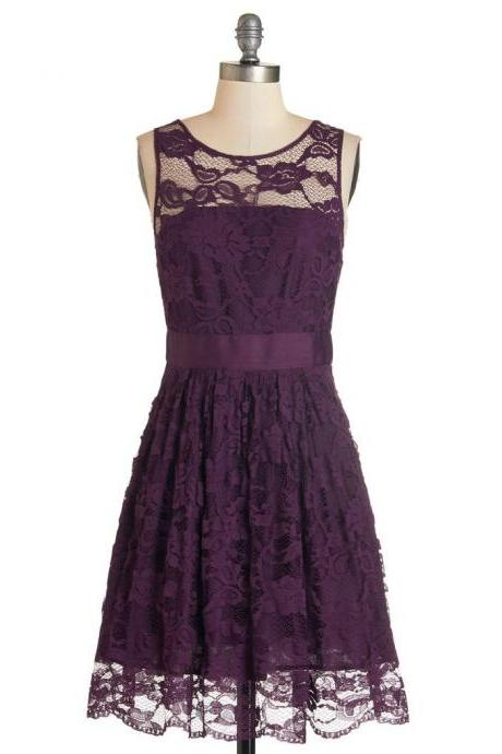 Floral Prom Dress,Lace Prom Dress,Mini Prom Dress,Fashion Homecomig Dress,Sexy Party Dress, New Style Evening Dress