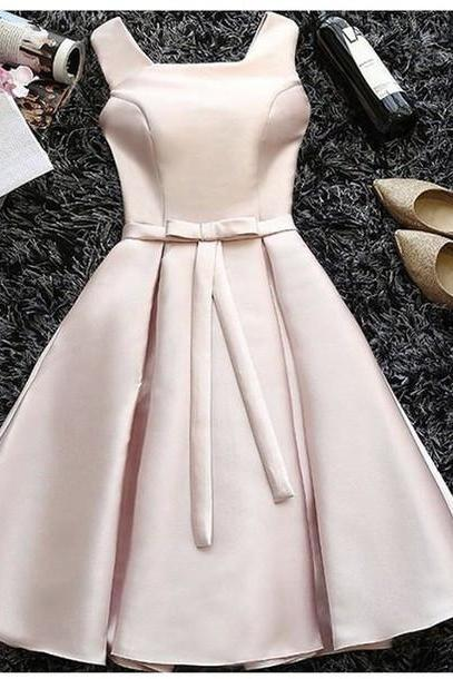 Charming Prom Dress,Bowknot Prom Dress,A Line Prom Dress,Fashion Homecoming Dress,Sexy Party Dress, New Style Evening Dress