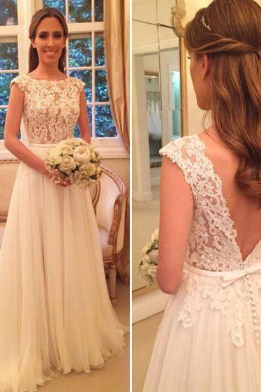 Backless Prom Dress,Lace Prom Dress,Illusion Prom Dress,Fashion Bridal Dress,Sexy Party Dress, New Style Evening Dress