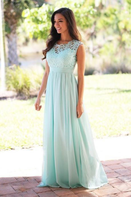 Lace Prom Dress,Chiffon Prom Dress,Maxi Prom Dress,Fashion Prom Dress,Sexy Party Dress, New Style Evening Dress