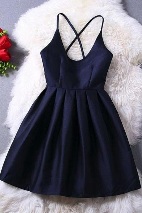 Charming Prom Dress,Mini Prom Dress,Spaghetti Prom Dress,Fashion Homecoming Dress,Sexy Party Dress, New Style Evening Dress