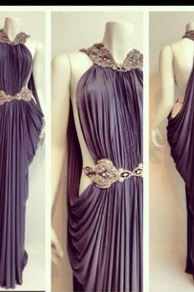 Unique Prom Dress,Backless Prom Dress,Beaded Prom Dress,Fashion Prom Dress,Sexy Party Dress, New Style Evening Dress