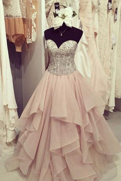 Sweetheart Prom Dress,A Line Prom Dress,Bodice Prom Dress,Fashion Prom Dress,Sexy Party Dress, New Style Evening Dress