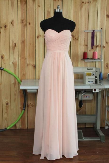 Pink Prom Dress,Sweetheart Prom Dress,Chiffon Prom Dress,Fashion Prom Dress,Sexy Party Dress, New Style Evening Dress