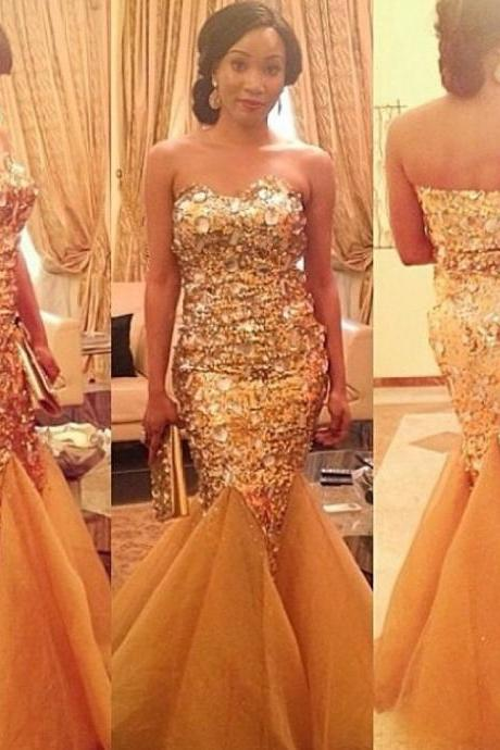 Luxury Prom Dress,Sweetheart Prom Dress,Mermaid Prom Dress,Fashion Prom Dress,Sexy Party Dress, New Style Evening Dress
