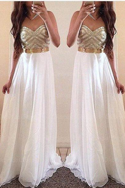 Beaded Prom Dress,Sweetheart Prom Dress,Chiffon Prom Dress,Fashion Prom Dress,Sexy Party Dress, New Style Evening Dress