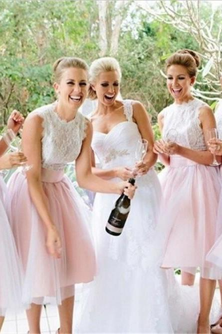 Charming Prom Dress,Lace Prom Dress,Illusion Prom Dress,Fashion Bridesmaid Dress,Sexy Party Dress, New Style Evening Dress