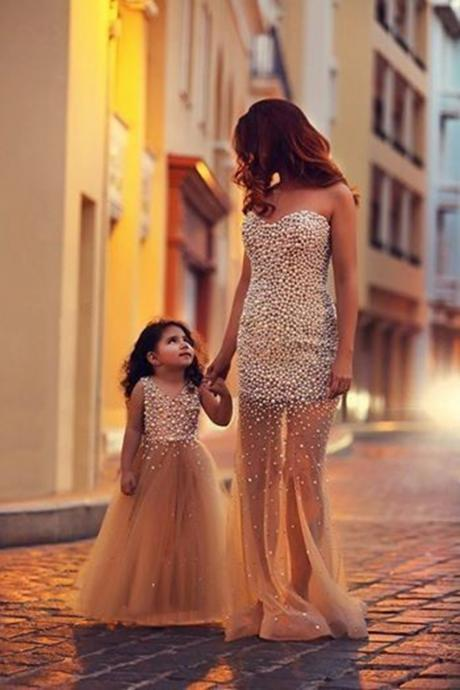 Charming Prom Dress,Beaded Prom Dress,Fashion Bridesmaid Dress,Sexy Party Dress, New Style Evening Dress