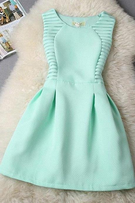 Mint Green Prom Dress,Mini Prom Dress,Fashion Homecoming Dress,Sexy Party Dress,Custom Made Evening Dress
