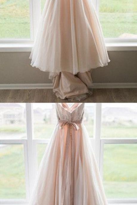 Sweetheart Prom Dress,Chiffon Prom Dress,Fashion Bridal Dress,Sexy Party Dress,Custom Made Evening Dress