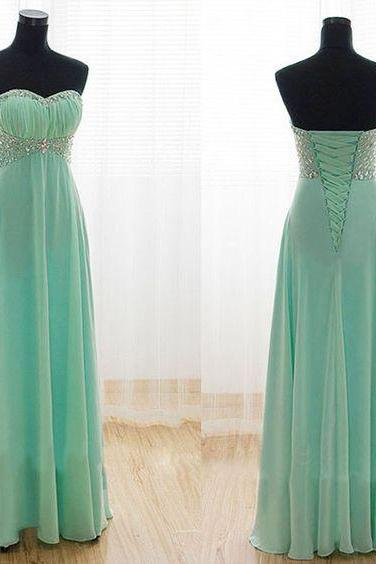 Beaded Prom Dress,Sweetheart Prom Dress,Fashion Prom Dress,Sexy Party Dress,Custom Made Evening Dress