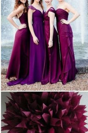 Chiffon Prom Dress,Fashion Bridesmaid Dress,Sexy Party Dress, New Style Evening Dress