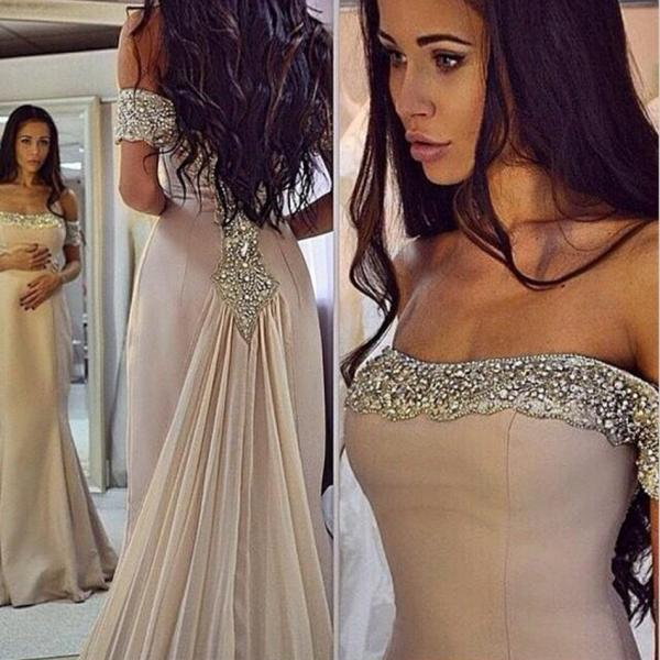 Unique Prom Dress,Mermaid Prom Dress,Beaded Prom Dress,Fashion Prom Dress,Sexy Party Dress, New Style Evening Dress