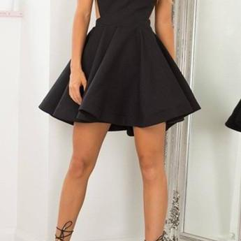Black Prom Dress,Halter Prom Dress,Black Prom Dress,Casual Dress,Fashion Prom Dress, Cheap Party Dress, New Style Evening Dress