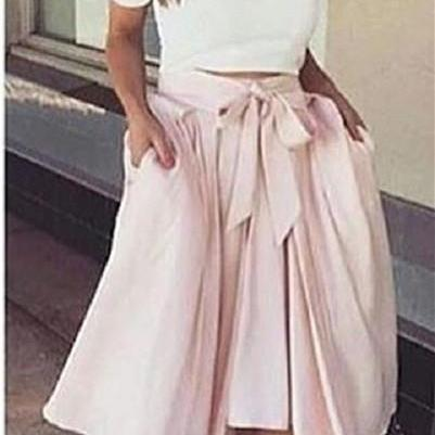 Off The Shoulder Prom Dress,High Low Prom Dress,Two Pieces Prom Dress,Fashion Prom Dress,Sexy Party Dress, New Style Evening Dress