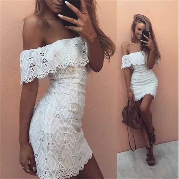 White Prom Dress,Pencil Prom Dress,Fashion Homecoming Dress,Sexy Party Dress,Custom Made Evening Dress